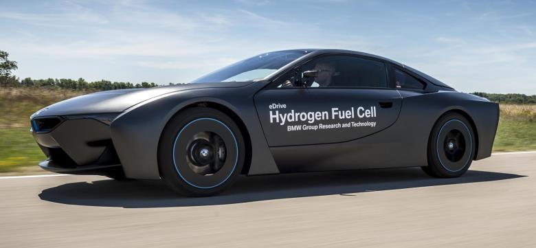 BMW revela conceito do i8 movido a células de hidrogênio