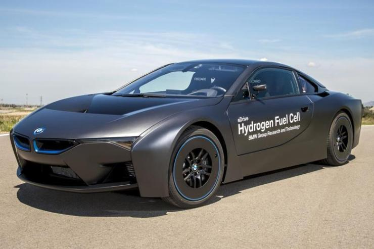 bmw i8 fuell cell