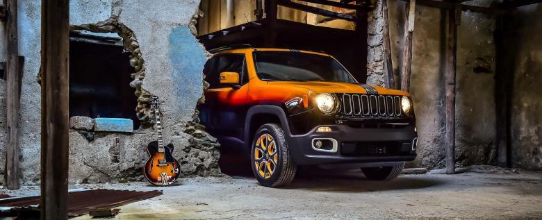 Jeep Renegade ganha customização para festival de jazz na Suíça