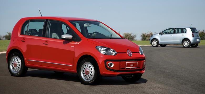 Volkswagen reajusta os preços de Up!, Gol e Voyage apostando no bom custo-benefício