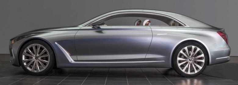 Hyundai revela o conceito Vision G Coupe em Los Angeles