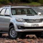 Preços da Toyota SW4 já ultrapassam os R$ 210 mil