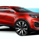 Novo Kia Sportage 2016 tem desenhos divulgados