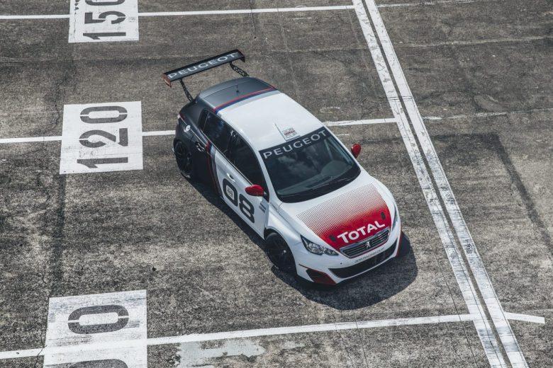 Peugeot 308 de competição tem motor 1.6 turbo de 308cv
