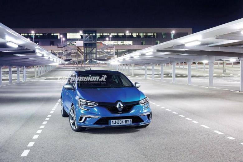 Primeiras imagens do novo Renault Megane caem na web