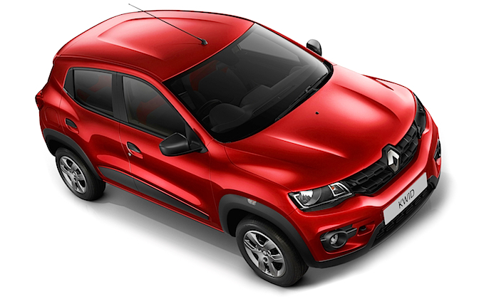 Renault Kwid é lançado na Índia por 3.900 dólares