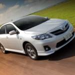 Toyota faz recall para 400 mil unidades de Corolla, Fielder, Hilux e SW4 no Brasil