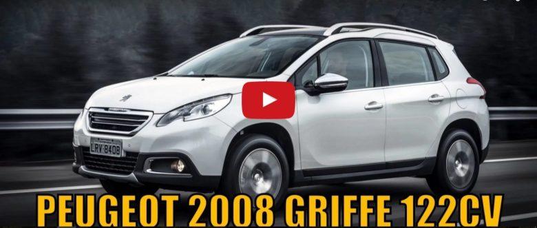 Avaliação em vídeo – Peugeot 2008 Griffe 122cv