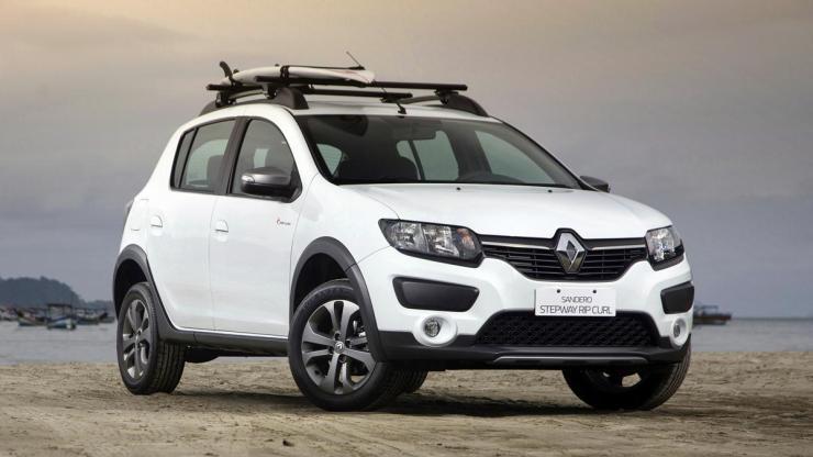 Renault Sandero Rip Curl 2015