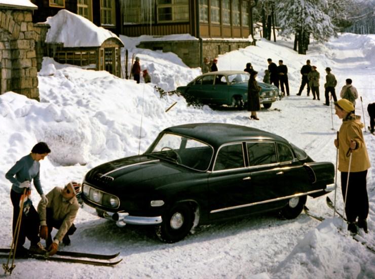 Senhor X costumava ir de Tatra para estações de esqui na República Tcheca