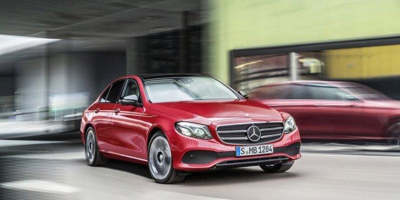 Mercedes Classe E teve suas primeiras imagens vazadas na web