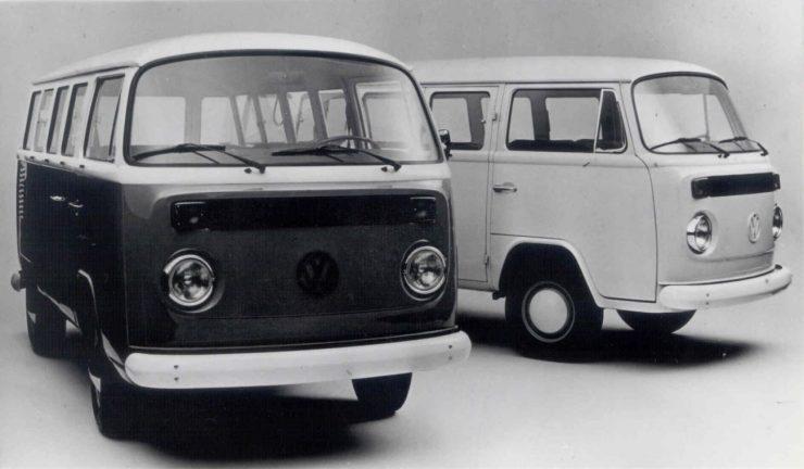 As exportações da Volkswagen do Brasil começaram em fevereiro de 1970, com 13 unidades de Kombi e Variant exportadas para o México e países da América do Sul. No ano seguinte, foram 1.039 veículos exportados, volume que, em 1972, saltou para 7.204 unidades vendidas para 44 países da América Latina, África e Ásia.