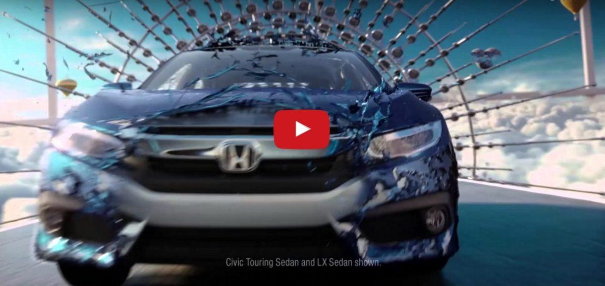 Novo Honda Civic 2016 ganha comercial de lançamento