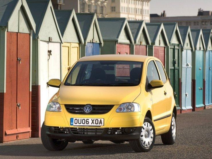 O Volkswagen Fox fabricado no Brasil foi o carro mais barato da Volks na Europa de 2005 até o lançamento do Up!. Era vendido até mesmo no Reino Unido com volante do lado direito. Sempre versão 2P, tinha várias opções de motores diferentes, inclusive o 1.2 a gasolina e os 1.4 a diesel e gasolina. Todos tinham airbags e ABS de série.