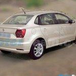 Foto do Ameo, novo sedã da Volkswagen, aparece antes da estreia