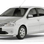 Toyota Etios White Pack parte dos  R$ 47.780