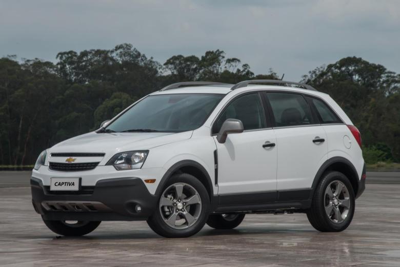 Chevrolet Captiva 2016 está R$ 11.400 mais em conta