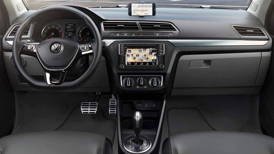 Agora sim, o painel do Volkswagen Gol 2017