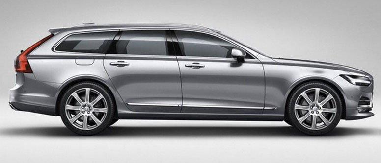 Imagens vazadas revelam o novo Volvo V90