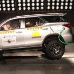 Toyota SW4 ganha nota máxima nos testes do Latin NCAP