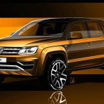 Volkswagen divulga teasers da Amarok reestilizada