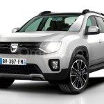Projeção antecipa a nova geração do Renault Duster