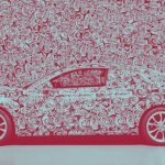 Audi mostra novo A5 camuflado. Literalmente