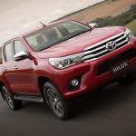 Nova Toyota Hilux está envolvida em recall