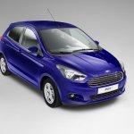 Ford Ka+ é lançado na Europa, mas como hatch…