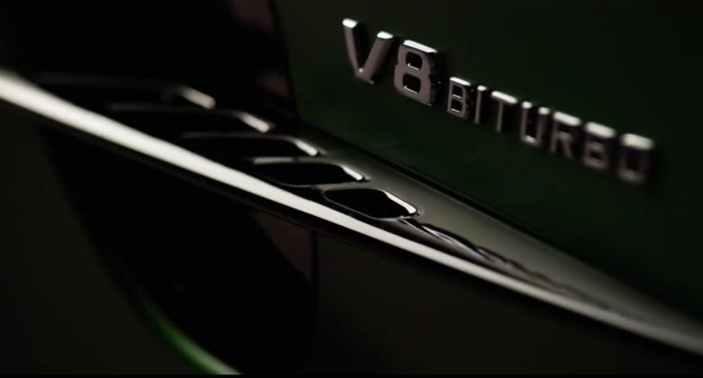 Mercedes revela teaser do AMG GT R em vídeo