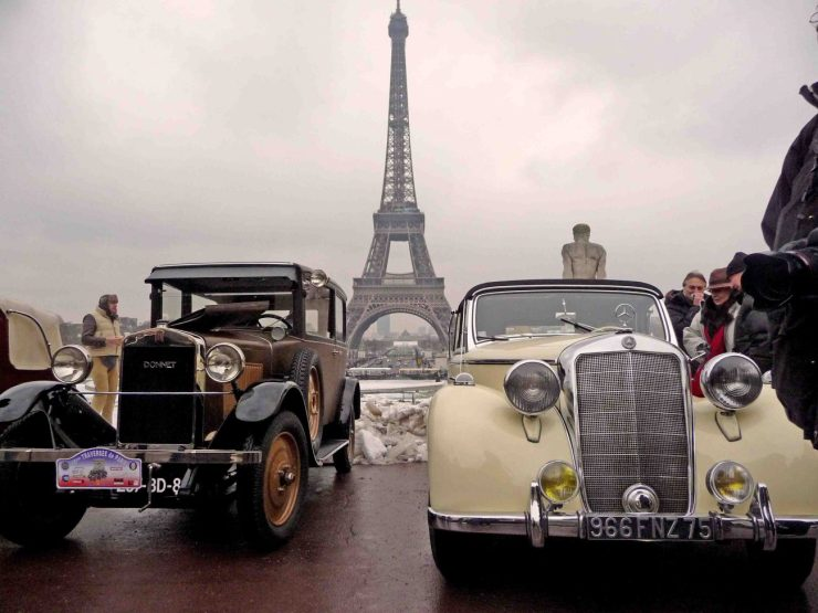 TRAVERSEE DE PARIS Tour Eiffel tacots