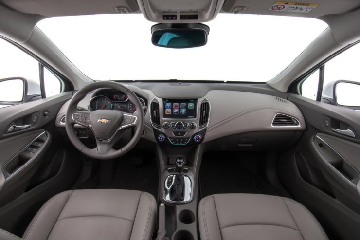 chevrolet cruze turbo 2017 - interior (1)