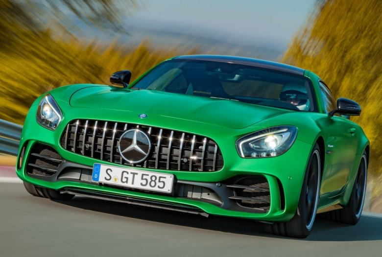 Este é o novo Mercedes-AMG GT R