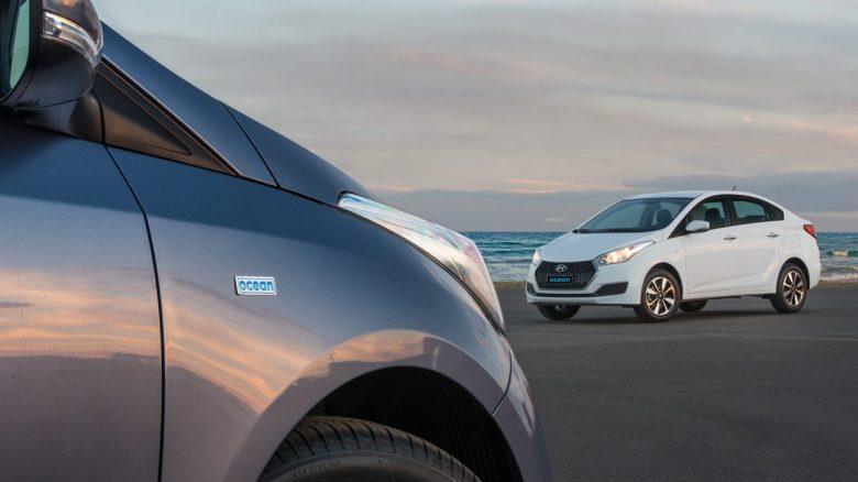 Hyundai apresenta série especial Ocean para HB20 e HB20S