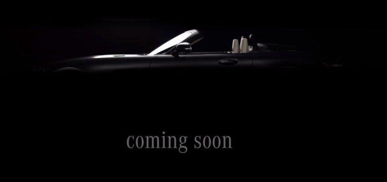 Mercedes divulga teaser da versão roadster do AMG GT