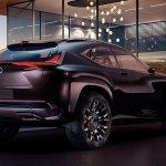 Lexus UX Concept tem primeira imagem oficial revelada