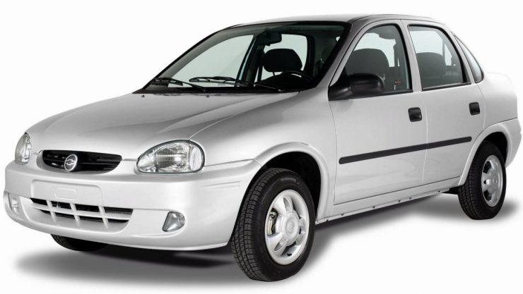 Accesorios pala la gama de vehiculos Chevrolet Corsa Base. X06CH_CS077AR (Argentina)