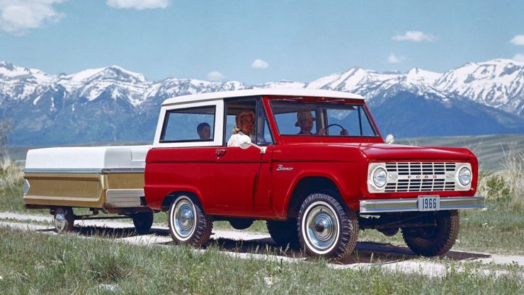 Classic 1966 Bronco Body Shell Available Soon