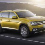 Com sete lugares, Volkswagen Atlas surge de olho nos Estados Unidos
