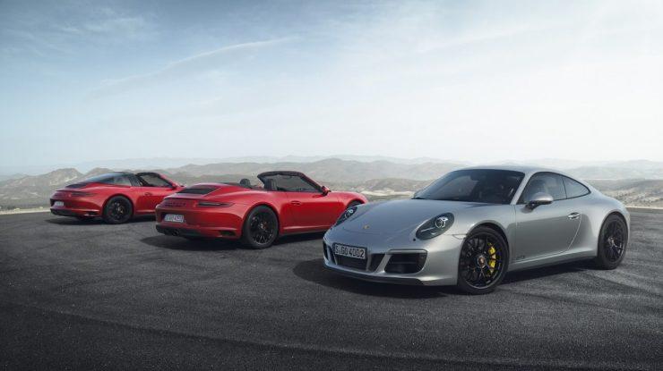 Novo Porsche 911 GTS chega aos 450 cv