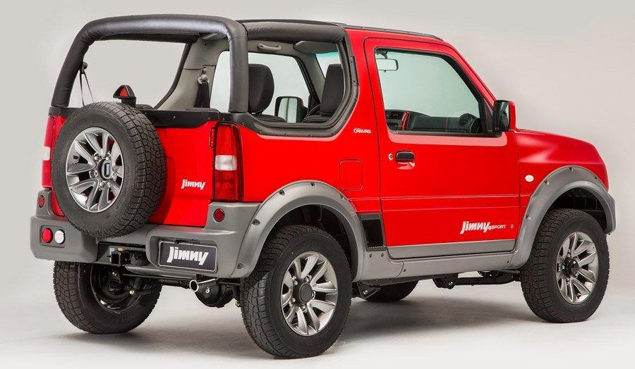 Com teto de lona, Suzuki Jimny Canvas parte dos R$ 80.890