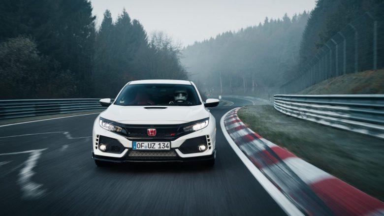 Vídeo – Honda Civic Type-R bate recorde em Nurburgring