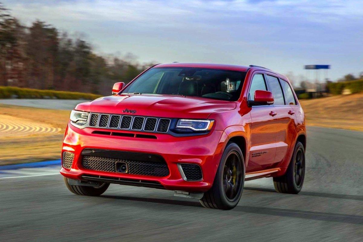 Grand Cherokee Trackhawk: o Jeep com motor V8 de 717 cv