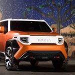 Toyota apresenta o FT-4X Concept, um possível substituto para o FJ Cruiser