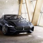 BMW Série 8 aparece como conceito e M8 já é mostrado em testes