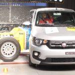 Com uma estrela do Fiat Mobi, Latin NCAP mostra que mesmo carros recentes não são seguros