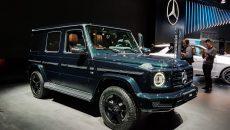 Salão de Detroit: novo Mercedes-Benz Classe G não deixa de ser 'raiz'
