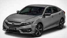 Versões de entrada do Honda Civic ganham nova central multimídia na linha 2018
