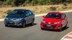 Toyota Yaris tem preço inicial de R$ 59.590; confira conteúdo das versões
