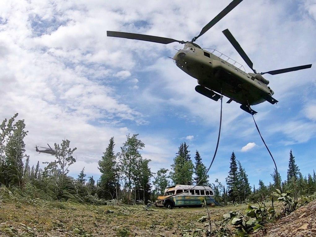Exército retirou ônibus de 'Na natureza selvagem do Alaska'